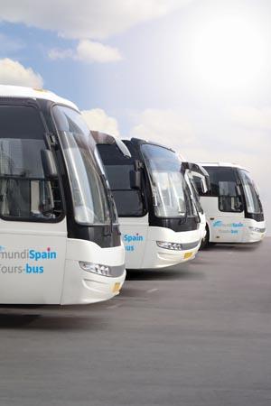 Autobuses por España